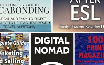 November book reviews: vagabonding, getting published, life after ESL, and more