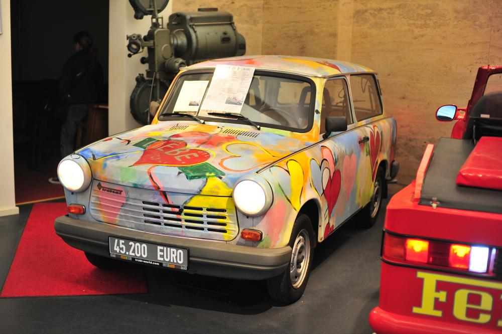 A tale of three car museums: the Lamborghini, the Ferrari, and the… Trabi?!