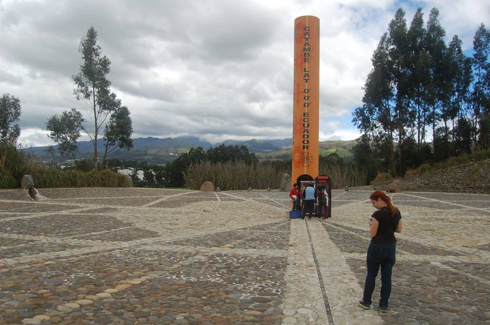 Destination: the equator – and our search to find the middle of the earth in Ecuador