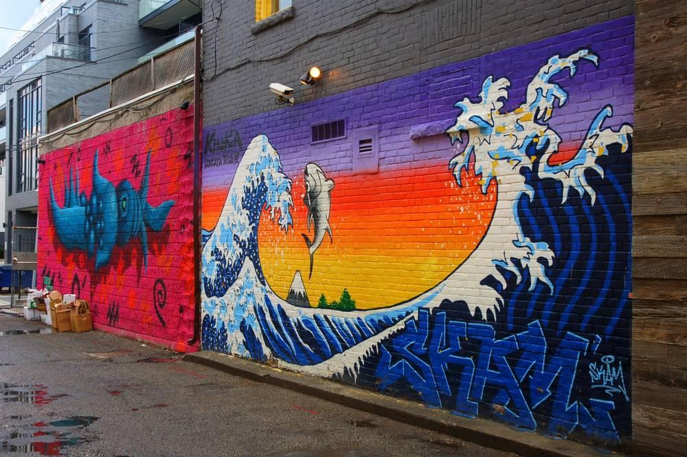 The street art of Toronto
